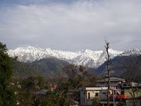 Snow Covered Dholadhar