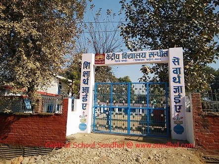 Central School Sandhole
